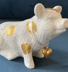 A Calico Pig with a Heart of Gold