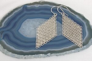 Indigo Lane Jewelry - Chainmail Earrings