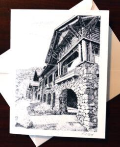 Kmiotek Art Works - Bear Mountain Notecards