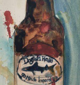"""Dogfish Head"" Dorrie Rifkin Giclee Print"