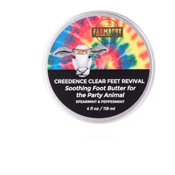 Farmbody Creedence Clear Foot Revival Foot Butter