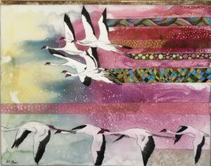 Flamingos - Paola Bari