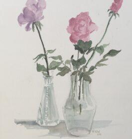 """Roses"" Frances H Wetmore"