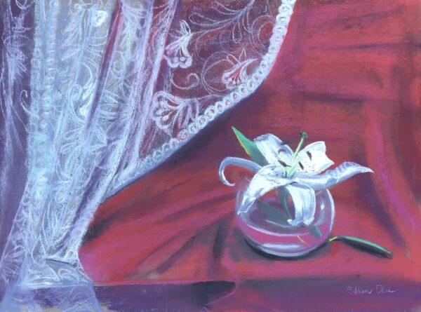 """""""Millweed"""" Original Pastel by Shawn Dell Joyce"""