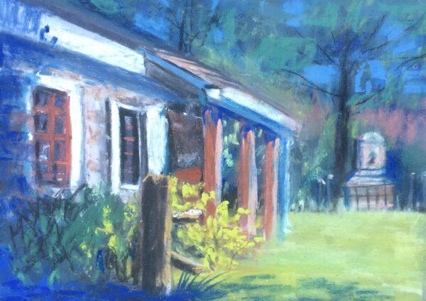 """""""Washington's HQ"""" original Pastel work by Shawn Dell Joyce"""