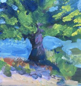 """Tree Study"" Shawn Dell Joyce"
