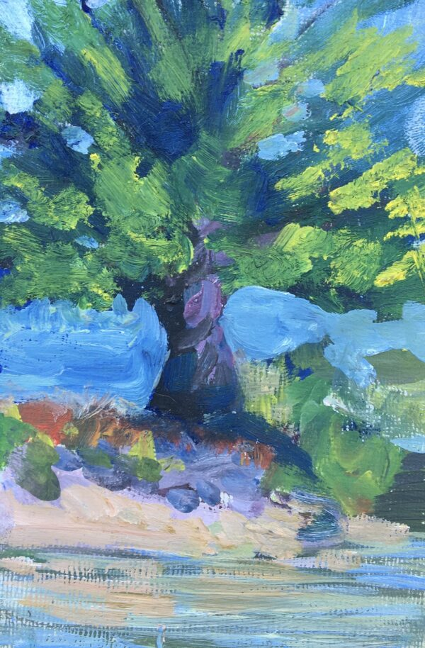 """Tree Study"" Original Oil artwork by Shawn Dell Joyce"