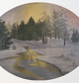 """""""Untitled Landscape"""" Nancy Reed Jones"""