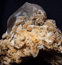 Natural Citrine with Mica