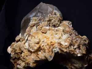 Judith's Crystal Cave -Natural Citrine with Mica