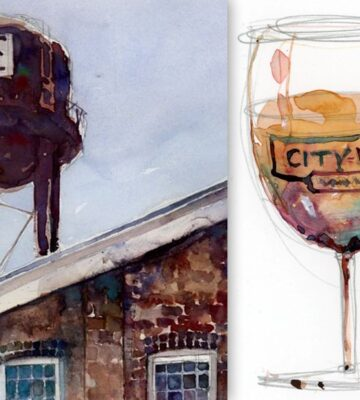 3-Part Plein Air Painting Workshop with Dorrie Rifkin at City Winery