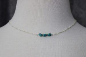 Indigo Lane Jewelry - Turquoise and Pyrite Necklace