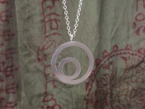 Indigo Lane Jewelry - Circle in a Circle Necklace