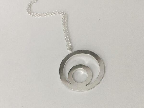 Indigo Lane Jewelry - Circle in a Circle Necklace