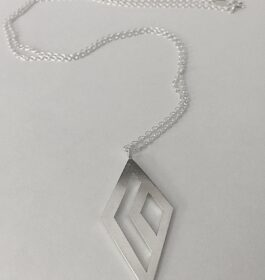 Geometric Diamonds Necklace