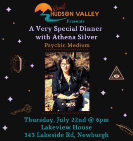 Dinner with Psychic Medium Athena Silver