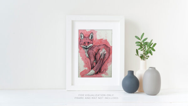 Fox in Red