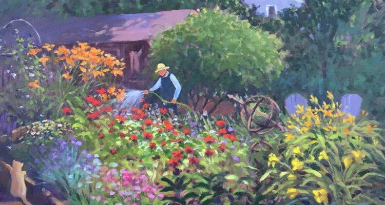 In the Garden Art Exhibit