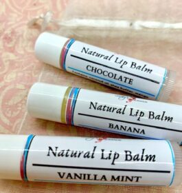 Natural Lip Balm Triple Pack