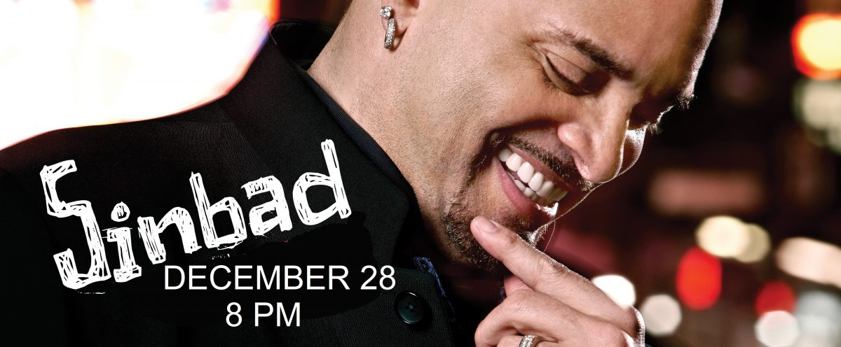 Sinbad at the Paramount