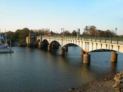 Bridge to Glen Island Park, New Rochelle, NY
