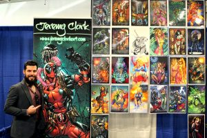 Jeremy_Clark at the Hudson Valley Comic Con 2019