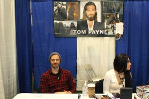 Tom_Payne at the Hudson Valley Comic Con 2019