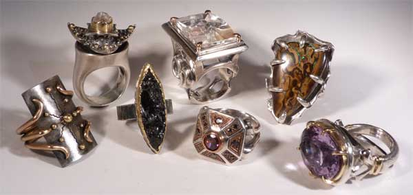Clear Metals Jewelry