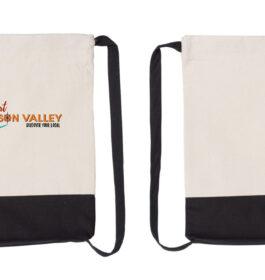 iHeart Cotton Drawstring Cinch Bag