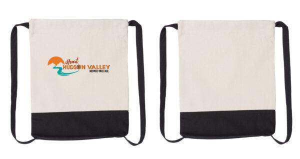 iHeart Cotton Cinch Bag